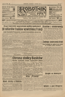 Robotnik : centralny organ P.P.S. R.41 [i.e.43], nr 176 (17 czerwca 1937) = nr 7058
