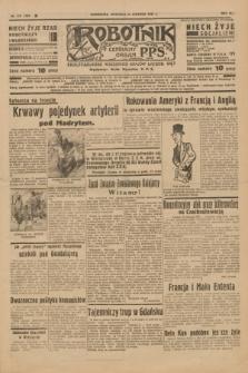 Robotnik : centralny organ P.P.S. R.41 [i.e.43], nr 179 (20 czerwca 1937) = nr 7061