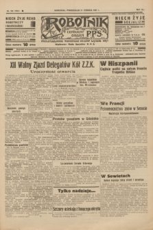 Robotnik : centralny organ P.P.S. R.41 [i.e.43], nr 180 (21 czerwca 1937) = nr 7062