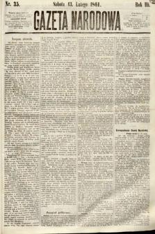 Gazeta Narodowa. 1864, nr35