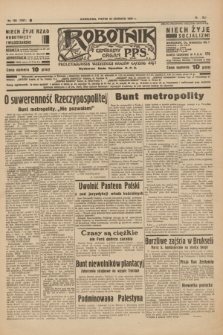 Robotnik : centralny organ P.P.S. R.41 [i.e.43], nr 185 (25 czerwca 1937) = nr 7067