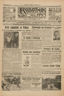 Robotnik : centralny organ P.P.S. R.41 [i.e.43], nr 189 (29 czerwca 1937) = nr 7071