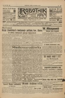 Robotnik : centralny organ P.P.S. R.41 [i.e.43], nr 190 (30 czerwca 1937) = nr 7072