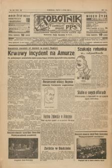 Robotnik : centralny organ P.P.S. R.41 [i.e.43], nr 192 (2 lipca 1937) = nr 7074