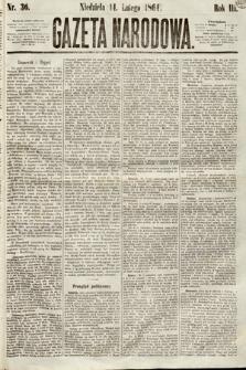 Gazeta Narodowa. 1864, nr36