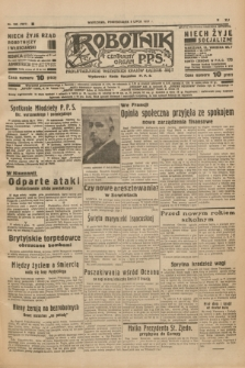 Robotnik : centralny organ P.P.S. R.41 [i.e.43], nr 195 (5 lipca 1937) = nr 7077