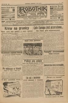Robotnik : centralny organ P.P.S. R.41 [i.e.43], nr 199 (8 lipca 1937) = nr 7081