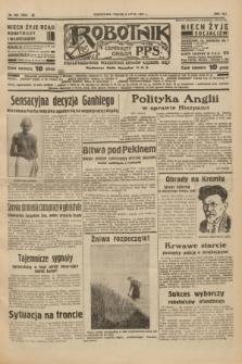Robotnik : centralny organ P.P.S. R.41 [i.e.43], nr 200 (9 lipca 1937) = nr 7082