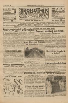 Robotnik : centralny organ P.P.S. R.41 [i.e.43], nr 202 (11 lipca 1937) = nr 7084