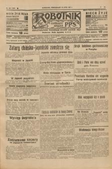 Robotnik : centralny organ P.P.S. R.41 [i.e.43], nr 203 (12 lipca 1937) = nr 7085