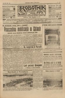 Robotnik : centralny organ P.P.S. R.41 [i.e.43], nr 205 (14 lipca 1937) = nr 7087
