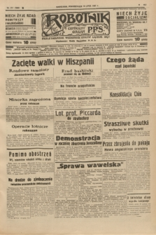 Robotnik : centralny organ P.P.S. R.41 [i.e.43], nr 211 (19 lipca 1937) = nr 7093