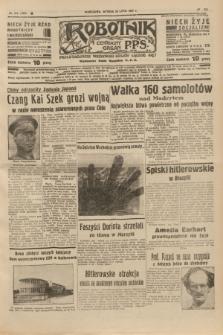 Robotnik : centralny organ P.P.S. R.41 [i.e.43], nr 212 (20 lipca 1937) = nr 7094