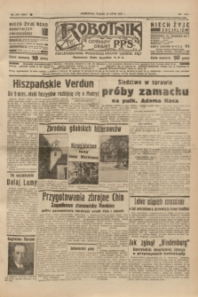 Robotnik : centralny organ P.P.S. R.41 [i.e.43], nr 215 (23 lipca 1937) = nr 7097