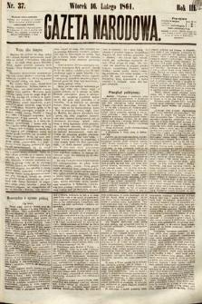 Gazeta Narodowa. 1864, nr37