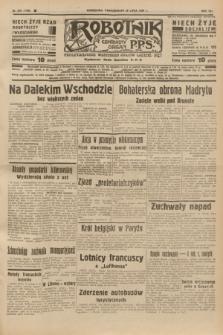 Robotnik : centralny organ P.P.S. R.41 [i.e.43], nr 218 (26 lipca 1937) = nr 7100
