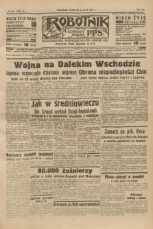 Robotnik : centralny organ P.P.S. R.41 [i.e.43], nr 221 (29 lipca 1937) = nr 7103