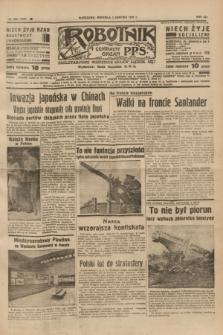 Robotnik : centralny organ P.P.S. R.41 [i.e.43], nr 225 (1 sierpnia 1937) = nr 7107