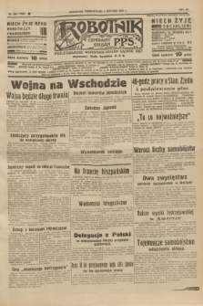 Robotnik : centralny organ P.P.S. R.41 [i.e.43], nr 226 (2 sierpnia 1937) = nr 7108