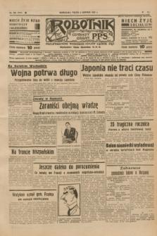Robotnik : centralny organ P.P.S. R.41 [i.e.43], nr 230 (6 sierpnia 1937) = nr 7112