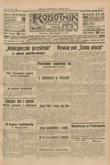 Robotnik : centralny organ P.P.S. R.41 [i.e.43], nr 233 (9 sierpnia 1937) = nr 7115