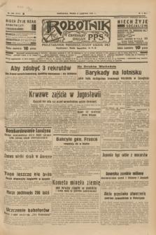 Robotnik : centralny organ P.P.S. R.41 [i.e.43], nr 235 (11 sierpnia 1937) = nr 7117