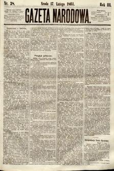 Gazeta Narodowa. 1864, nr38