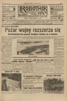 Robotnik : centralny organ P.P.S. R.41 [i.e.43], nr 242 (17 sierpnia 1937) = nr 7124