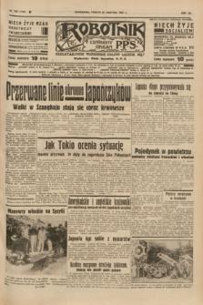 Robotnik : centralny organ P.P.S. R.41 [i.e.43], nr 246 (21 sierpnia 1937) = nr 7128