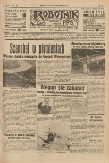 Robotnik : centralny organ P.P.S. R.41 [i.e.43], nr 247 (22 sierpnia 1937) = nr 7129