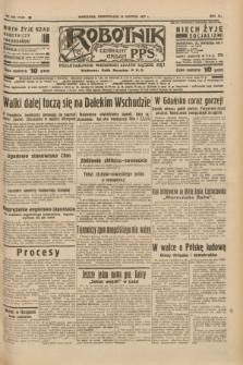 Robotnik : centralny organ P.P.S. R.41 [i.e.43], nr 258 (30 sierpnia 1937) = nr 7140