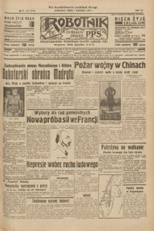Robotnik : centralny organ P.P.S. R.41 [i.e.43], nr 261 (1 września 1937) = nr 7143 (po konfiskacie nakład drugi)