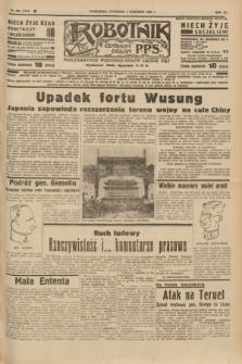 Robotnik : centralny organ P.P.S. R.41 [i.e.43], nr 262 (2 września 1937) = nr 7144