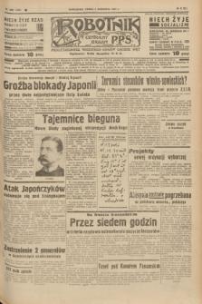 Robotnik : centralny organ P.P.S. R.41 [i.e.43], nr 269 (8 września 1937) = nr 7151