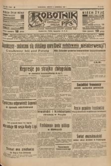Robotnik : centralny organ P.P.S. R.41 [i.e.43], nr 272 (11 września 1937) = nr 7154