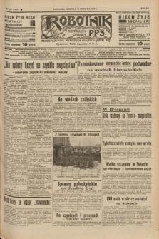Robotnik : centralny organ P.P.S. R.41 [i.e.43], nr 273 (12 września 1937) = nr 7155