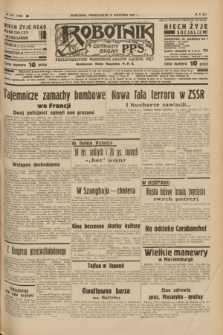 Robotnik : centralny organ P.P.S. R.41 [i.e.43], nr 274 (13 września 1937) = nr 7156