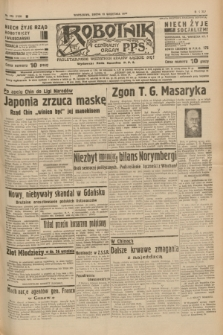 Robotnik : centralny organ P.P.S. R.41 [i.e.43], nr 276 (15 września 1937) = nr 7158