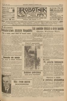 Robotnik : centralny organ P.P.S. R.41 [i.e.43], nr 277 (16 września 1937) = nr 7159