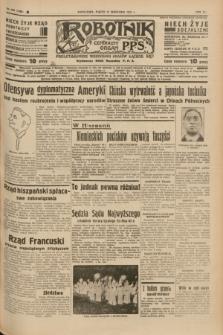 Robotnik : centralny organ P.P.S. R.41 [i.e.43], nr 278 (17 września 1937) = nr 7160