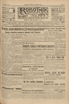 Robotnik : centralny organ P.P.S. R.41 [i.e.43], nr 279 (18 września 1937) = nr 7161