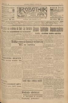 Robotnik : centralny organ P.P.S. R.41 [i.e.43], nr 282 (21 września 1937) = nr 7164