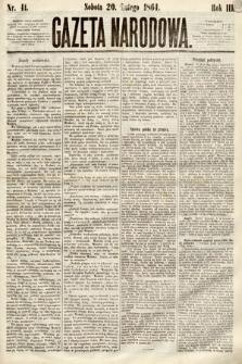 Gazeta Narodowa. 1864, nr41