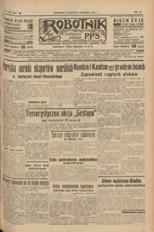 Robotnik : centralny organ P.P.S. R.41 [i.e.43], nr 284 (23 września 1937) = nr 7166