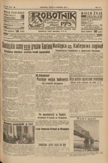 Robotnik : centralny organ P.P.S. R.41 [i.e.43], nr 285 (24 września 1937) = nr 7167