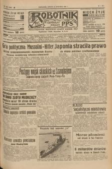 Robotnik : centralny organ P.P.S. R.41 [i.e.43], nr 286 (25 września 1937) = nr 7168