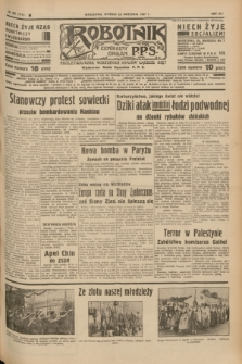 Robotnik : centralny organ P.P.S. R.41 [i.e.43], nr 289 (28 września 1937) = nr 7171