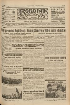 Robotnik : centralny organ P.P.S. R.41 [i.e.43], nr 290 (29 września 1937) = nr 7172