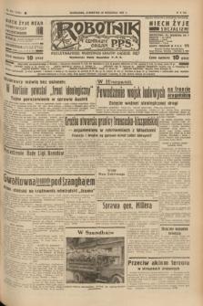 Robotnik : centralny organ P.P.S. R.41 [i.e.43], nr 291 (30 września 1937) = nr 7173