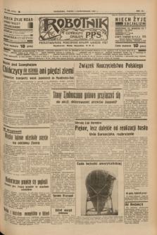 Robotnik : centralny organ P.P.S. R.41 [i.e.43], nr 292 (1 października 1937) = nr 7174